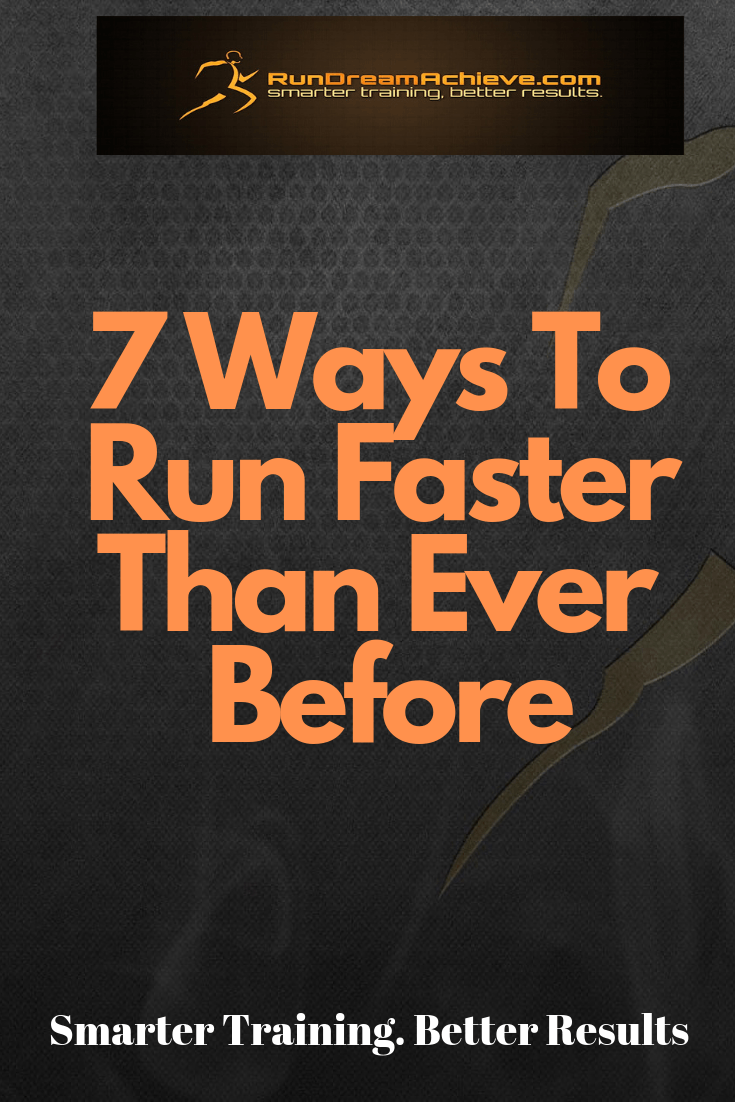 ways to run faster
