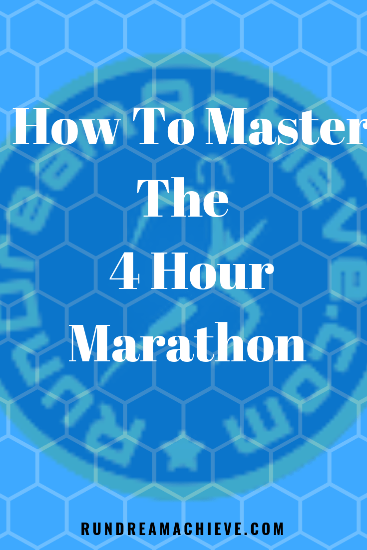 4 hour marathon