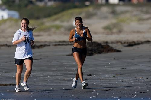 running a faster marathon