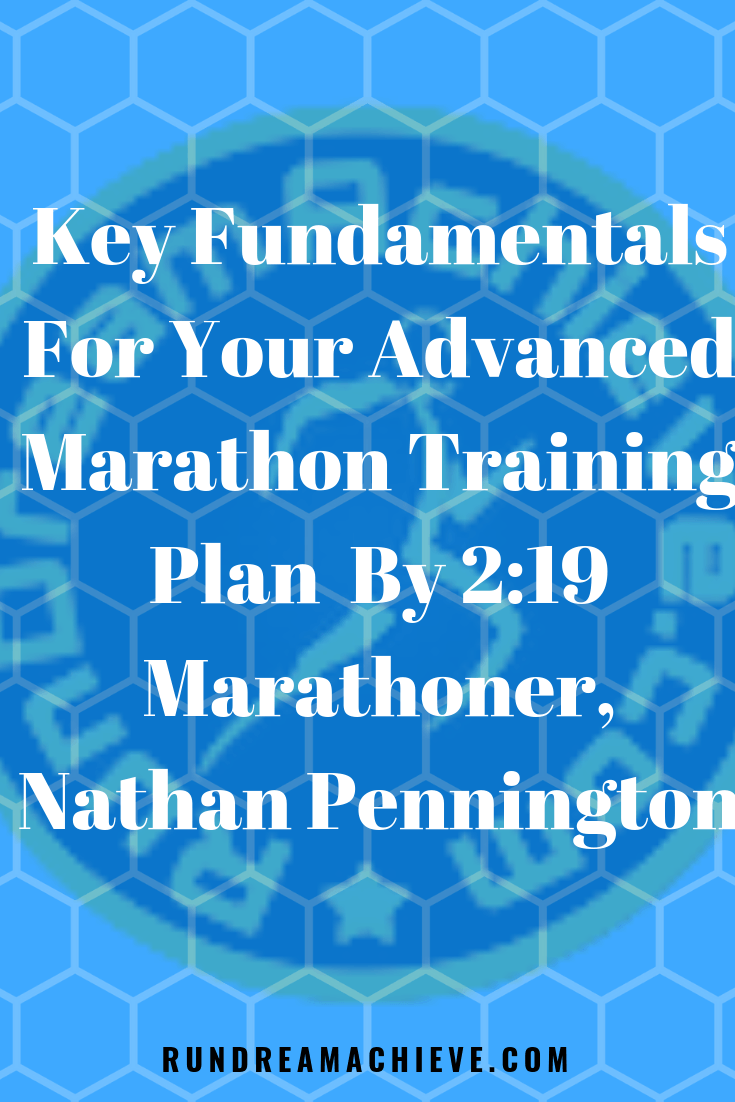 advanced marathon training plan