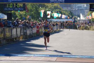 average half marathon time