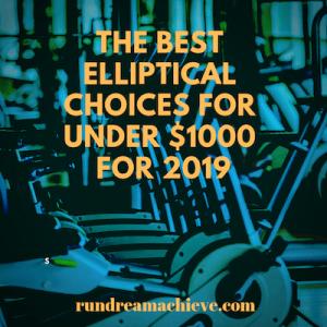 best elliptical under 1000