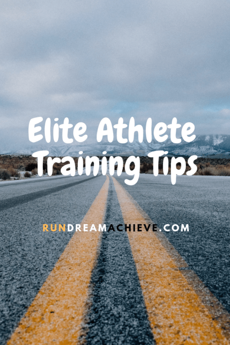 elite athlete training