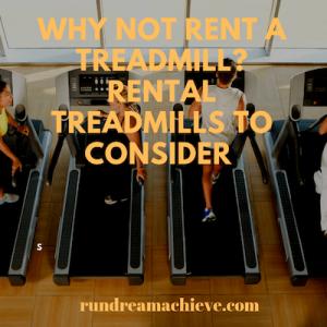 rental treadmills