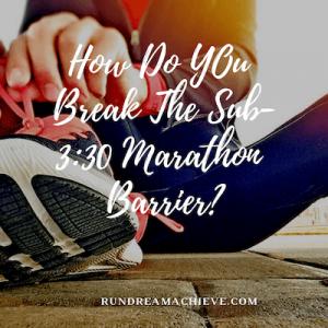 sub-3:30 marathon training plan