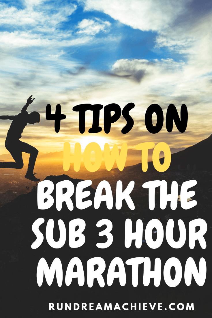 sub 3 hour marathon