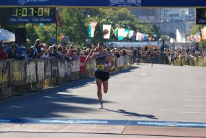 running 5 minute mile