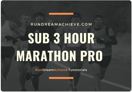 how long does it take to train for a sub 3 hour marathon