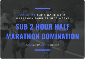 how do I train for a sub 2 half marathon
