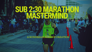 sub 2.30 marathon training plan