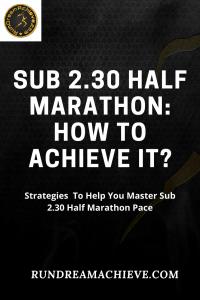 sub 2.30 half marathon