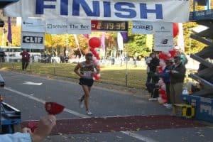 half marathon under 2 hours