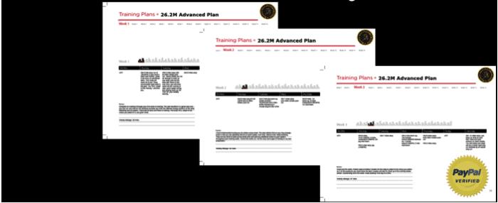 Sub 25 minute 5K training plan